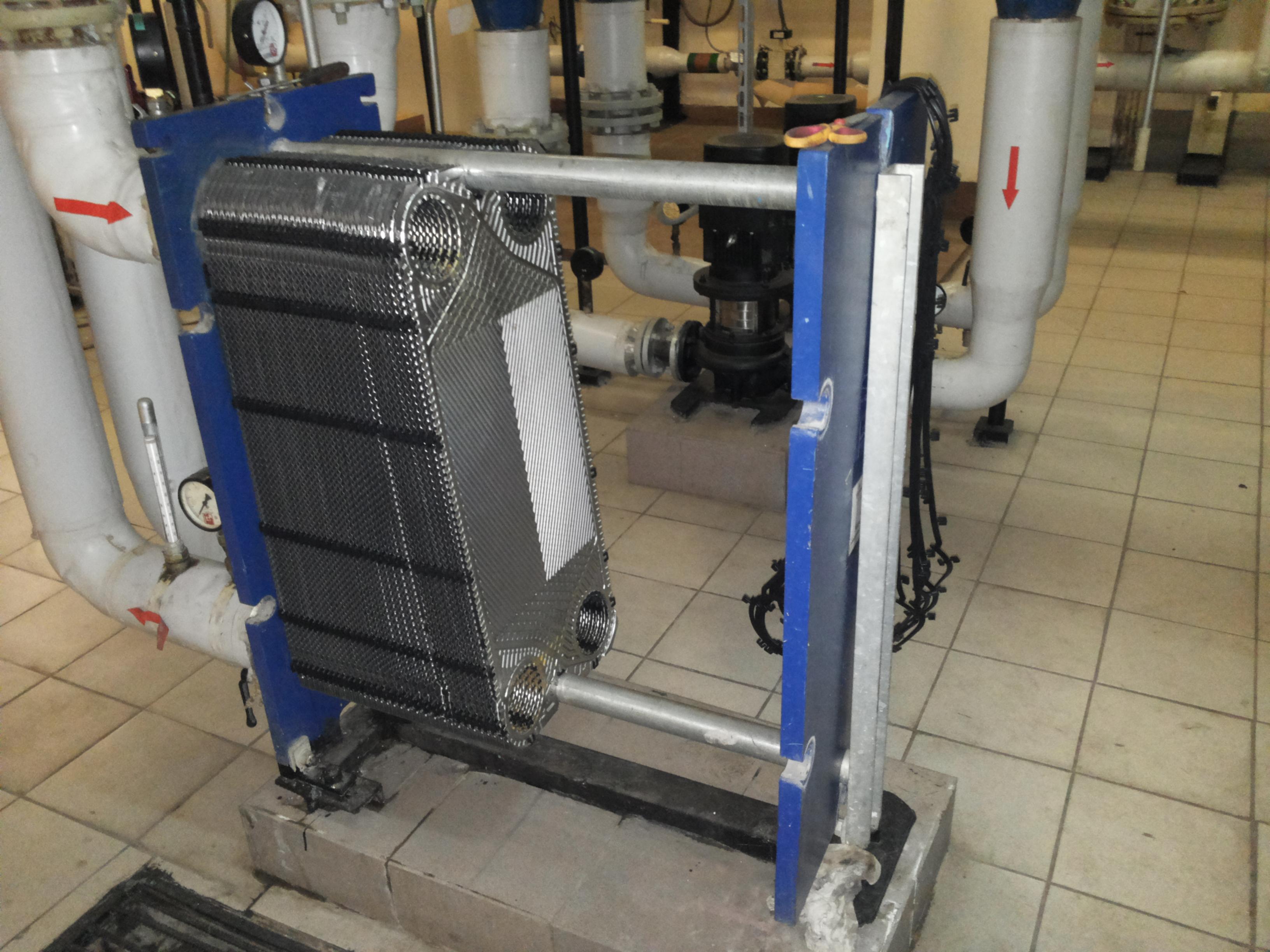 Как увеличить мощность пластинчатого теплообменника формула поверхность нагрева теплообменника